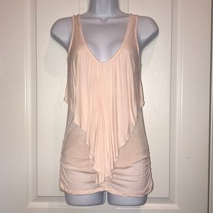 Wet Seal peach form fitting tank top
